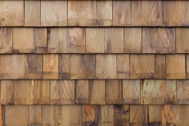 Предпосылка стены панели плитки старого стога деревянная стоковые изображения