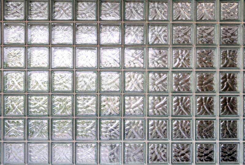 предпосылка стены стеклянного блока стоковая фотография