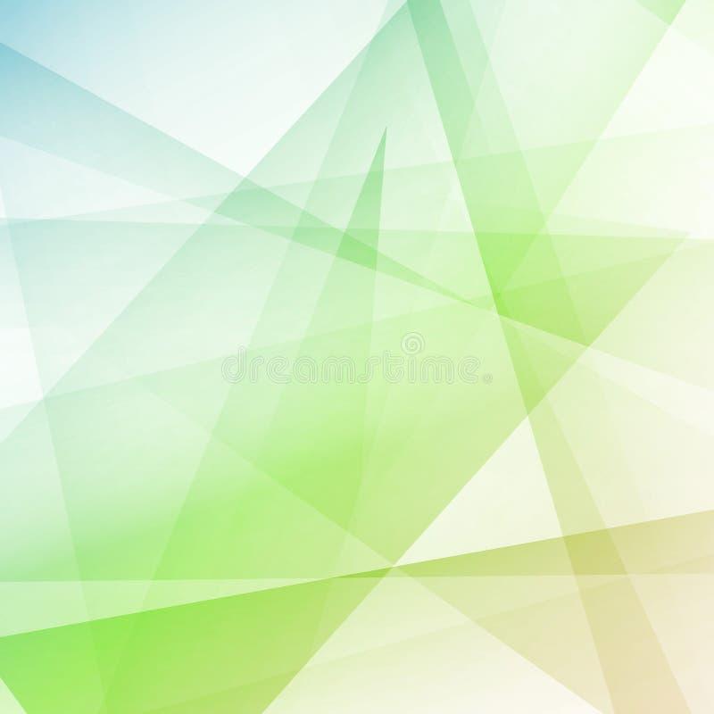 Предпосылка стиля битника красочная кристаллическая современная геометрическая иллюстрация вектора