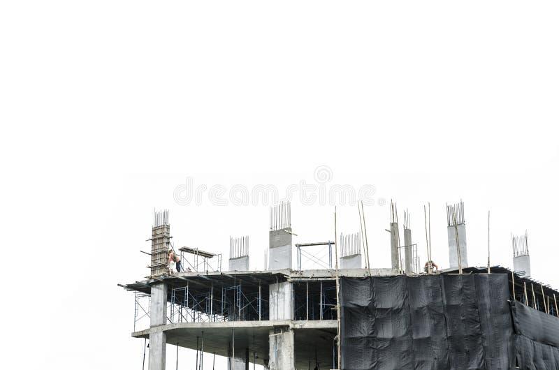 Предпосылка строительной площадки стоковые фото