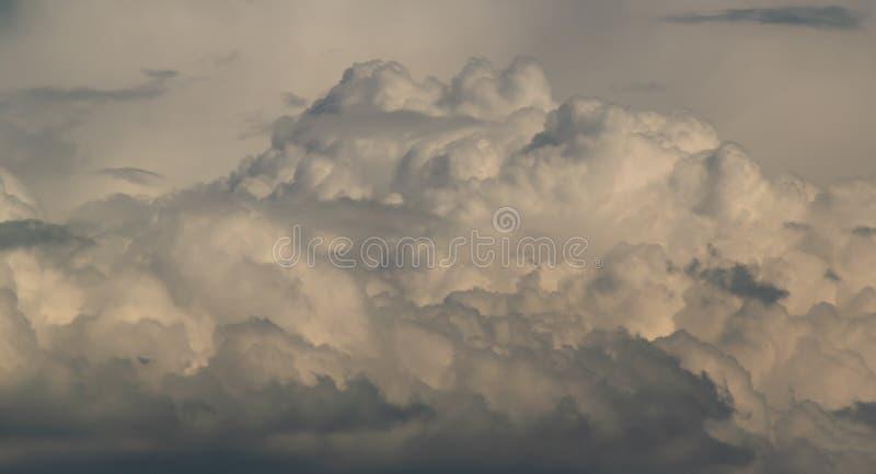 Предпосылка, сценарное облако стоковая фотография
