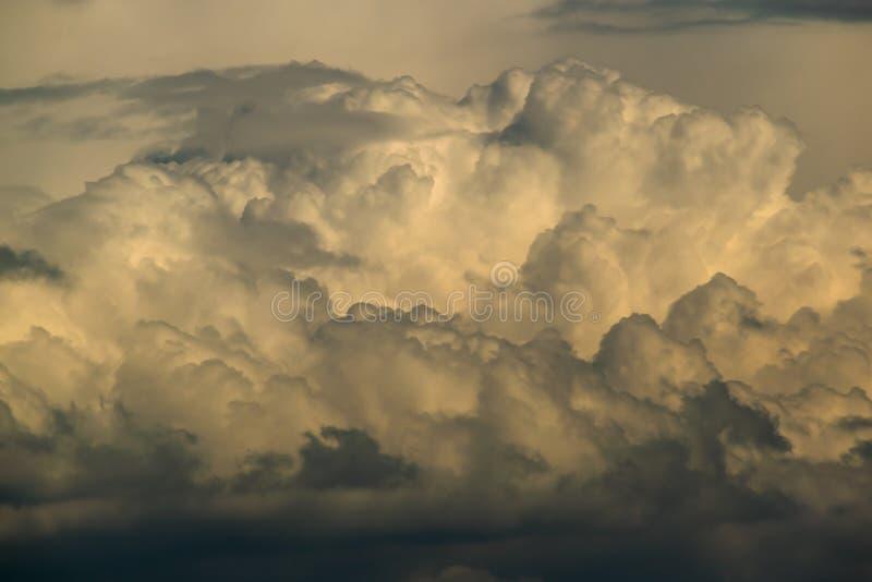 Предпосылка, сценарное облако стоковое изображение