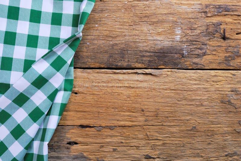 Предпосылка сделанная от checkered салфетки стоковая фотография rf