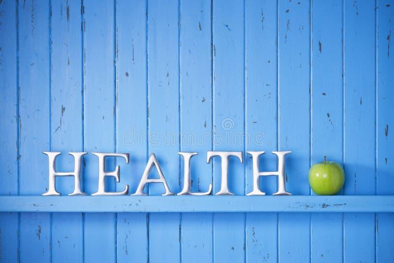 Предпосылка слова здоровья стоковая фотография