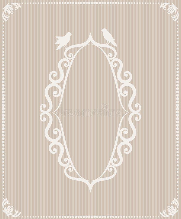 Предпосылка с орнаментами шнурка стоковое изображение rf