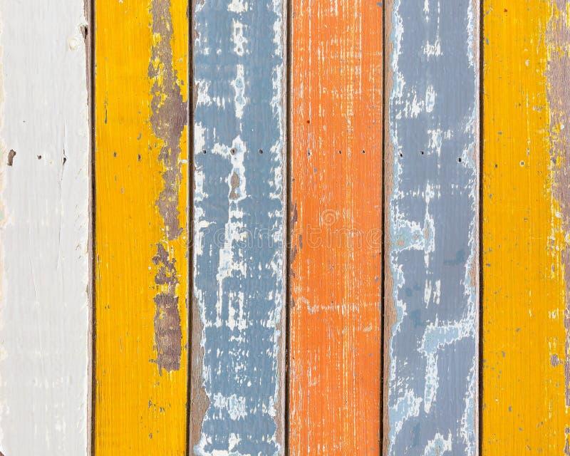 Предпосылка текстуры абстрактного grunge деревянная с старым colorfu краски стоковое фото rf
