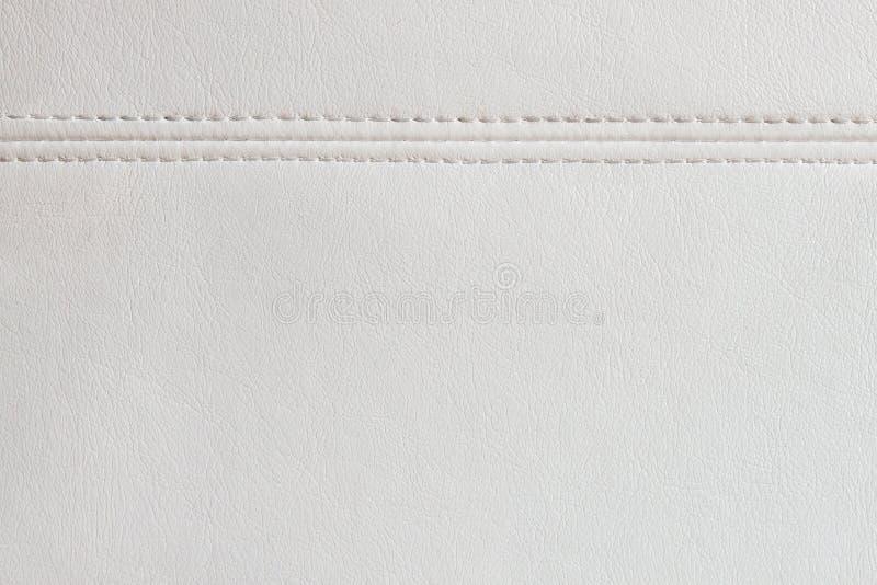 Предпосылка текстуры белой кожи стоковые изображения rf