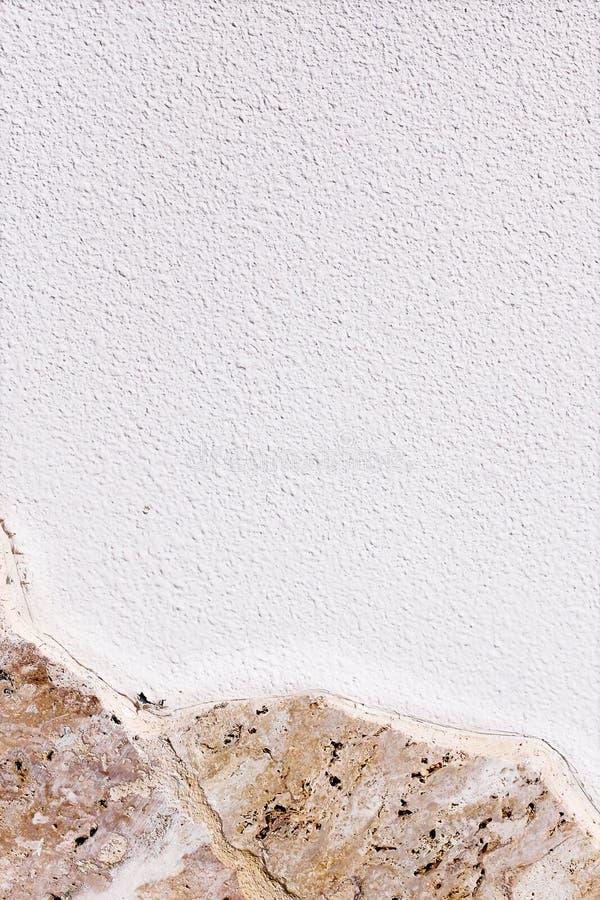 Предпосылка текстуры гранита с белым пустым космосом для текста стоковая фотография rf