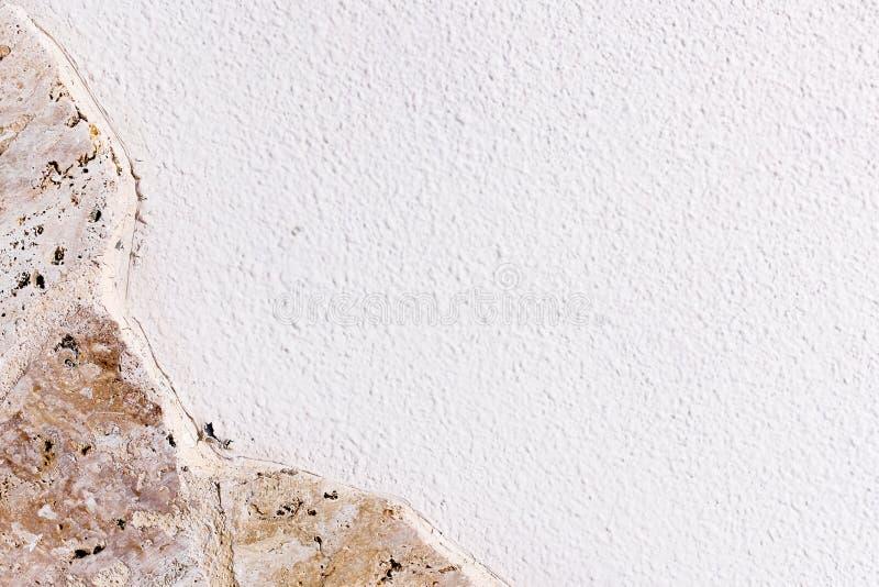 Предпосылка текстуры гранита с белым пустым космосом для текста стоковые фото