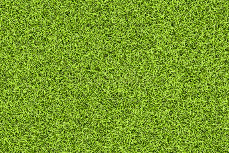 Предпосылка текстуры зеленой травы, фон перевод 3d иллюстрация штока