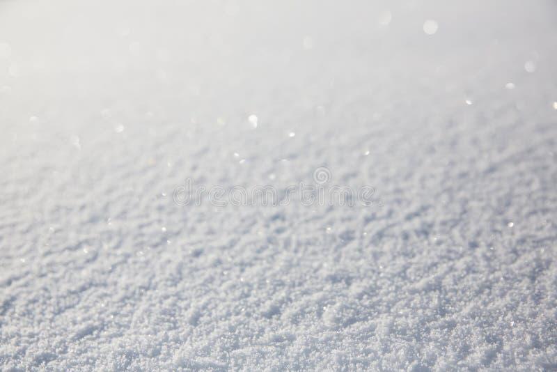 Предпосылка текстуры или зимы снега стоковое изображение