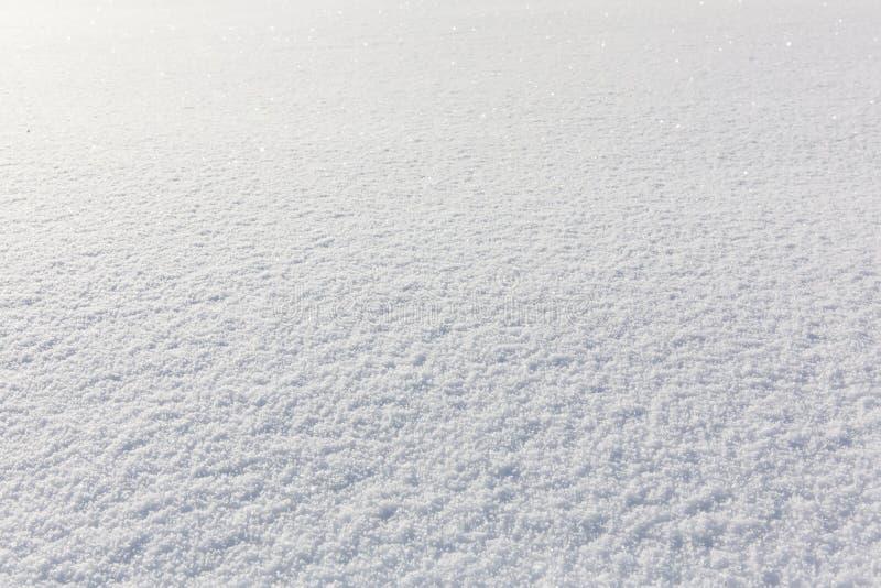 Предпосылка текстуры или зимы снега стоковое изображение rf