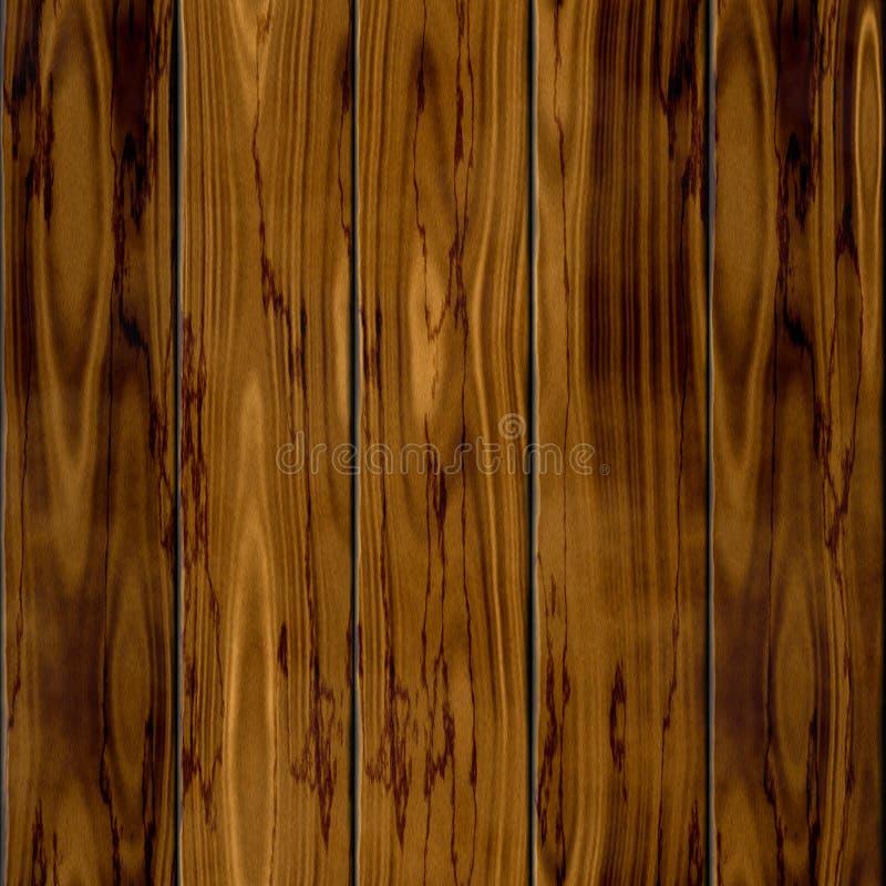 Предпосылка текстуры картины темной старой коричневой естественной загородки древесины 5 безшовная иллюстрация вектора