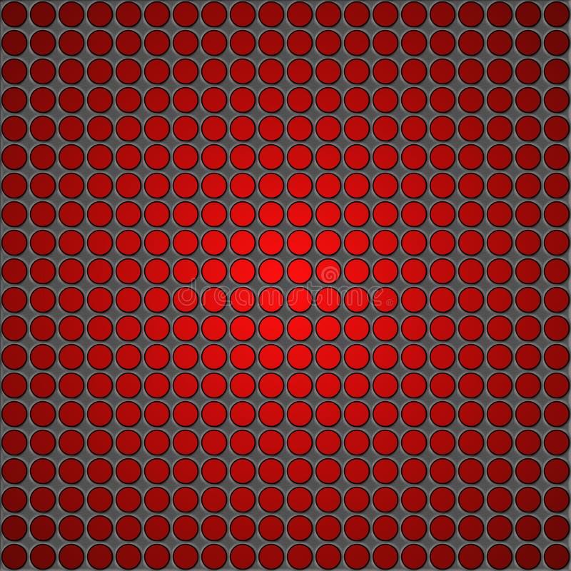 Предпосылка текстуры сетки металла бесплатная иллюстрация