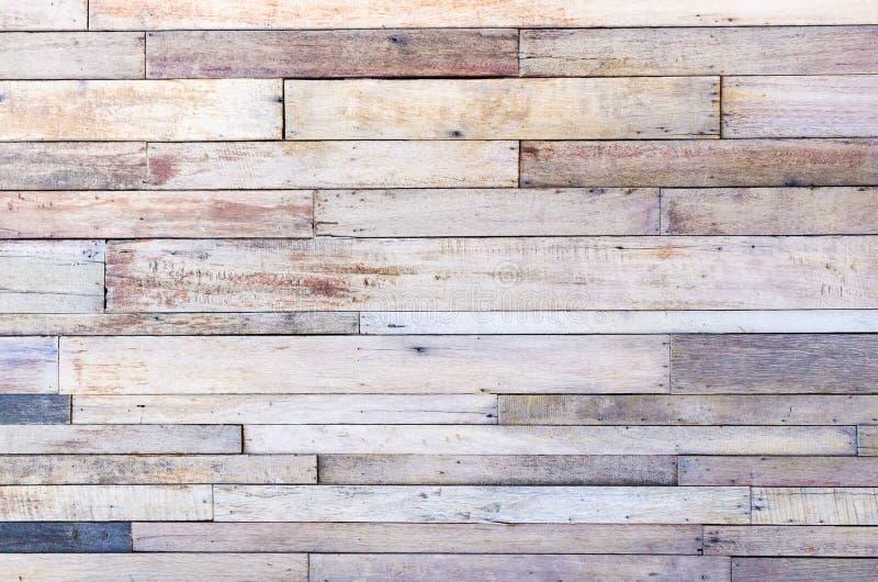 Предпосылка текстуры стены планки Брайна деревянная стоковые фото
