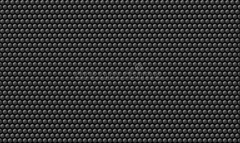 Предпосылка текстуры углерода сота металлическая стоковое фото