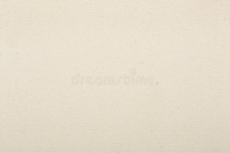 Предпосылка текстуры холста естественная бежевая стоковое изображение rf