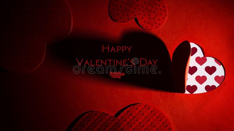 Предпосылка темы дня ` s валентинки St стоковое изображение rf