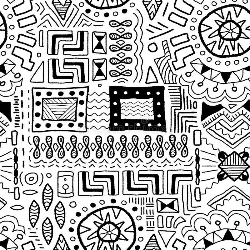 Предпосылка традиционного искусства иллюстрация вектора
