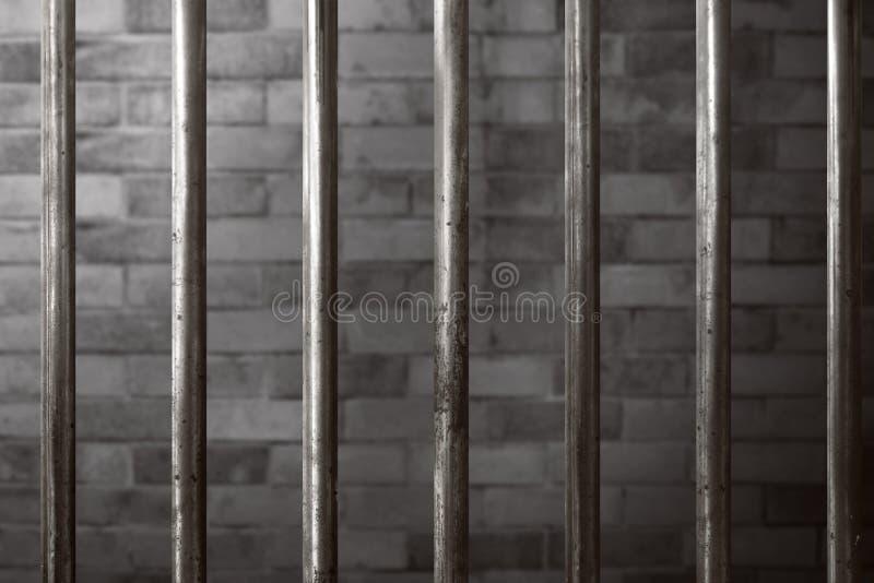 Предпосылка тюремной камеры стоковые изображения
