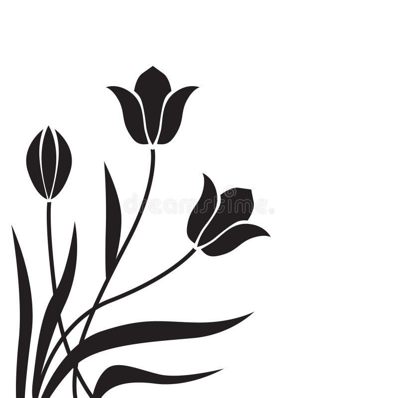 Download Предпосылка тюльпана иллюстрация вектора. иллюстрации насчитывающей поздравление - 33736850