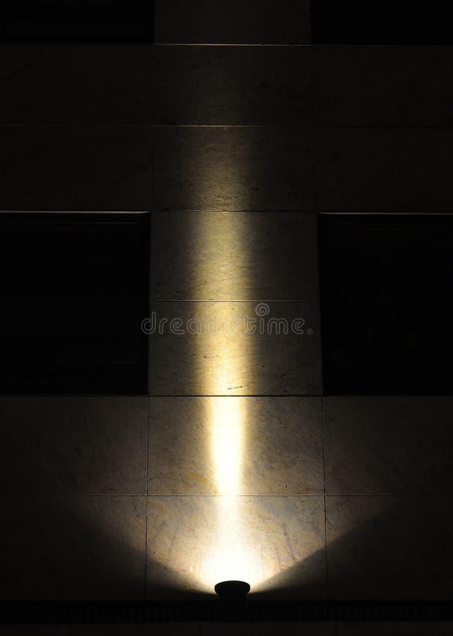 Предпосылка фары, llluminated стена стоковые фото