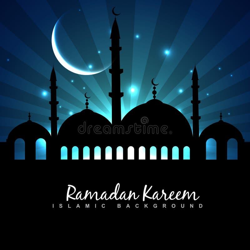 Предпосылка фестиваля Eid иллюстрация штока