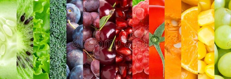 Предпосылка фрукта и овоща стоковое изображение rf