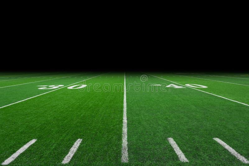 Предпосылка футбольного поля стоковые фотографии rf