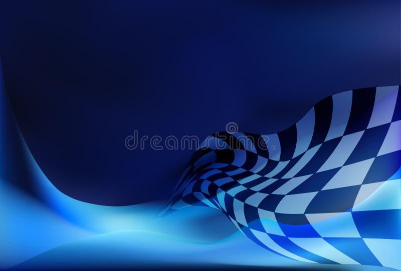 Предпосылка флага гонки бесплатная иллюстрация