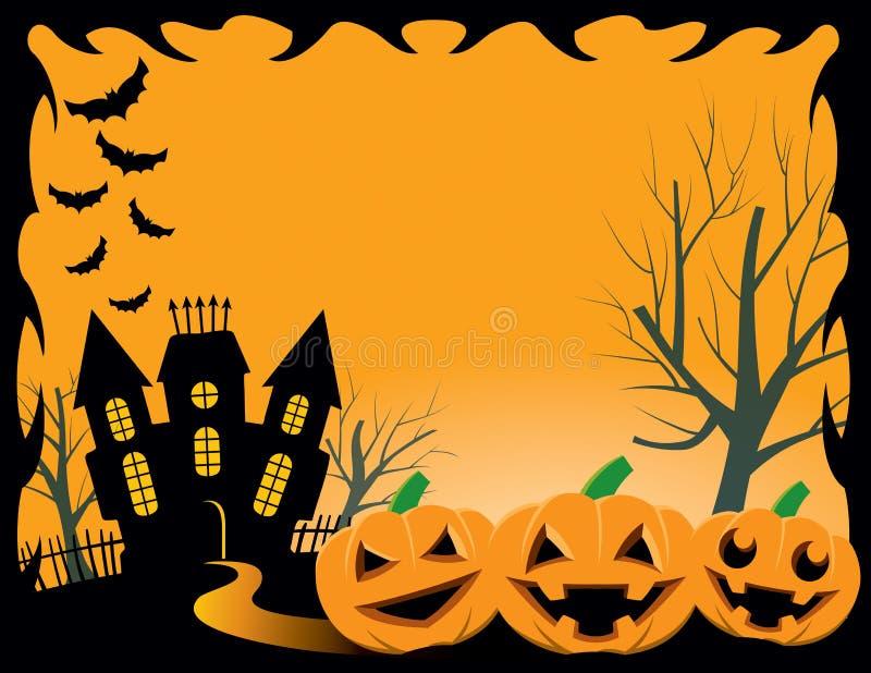 Предпосылка хеллоуина бесплатная иллюстрация
