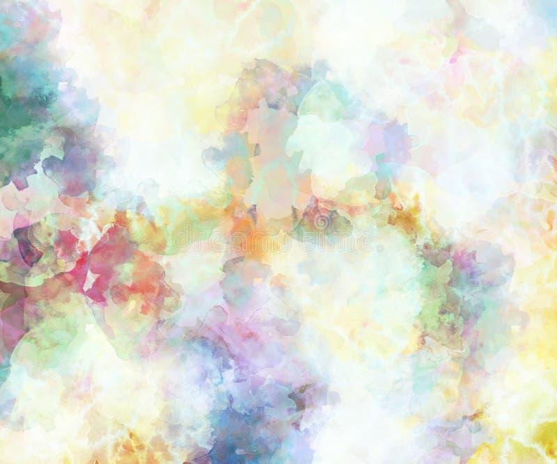 Предпосылка цвета воды бесплатная иллюстрация