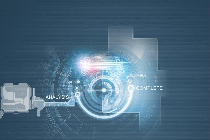 Download предпосылка цифровая стоковое изображение. изображение насчитывающей соединение - 41652539