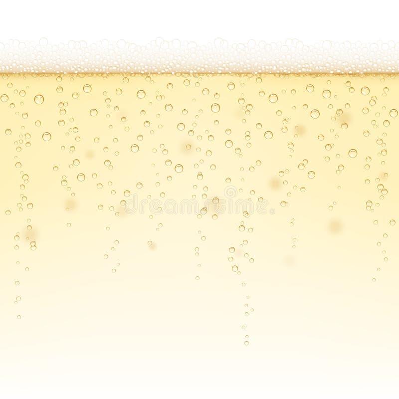 Предпосылка Шампани - горизонтально плитк-способная бесплатная иллюстрация