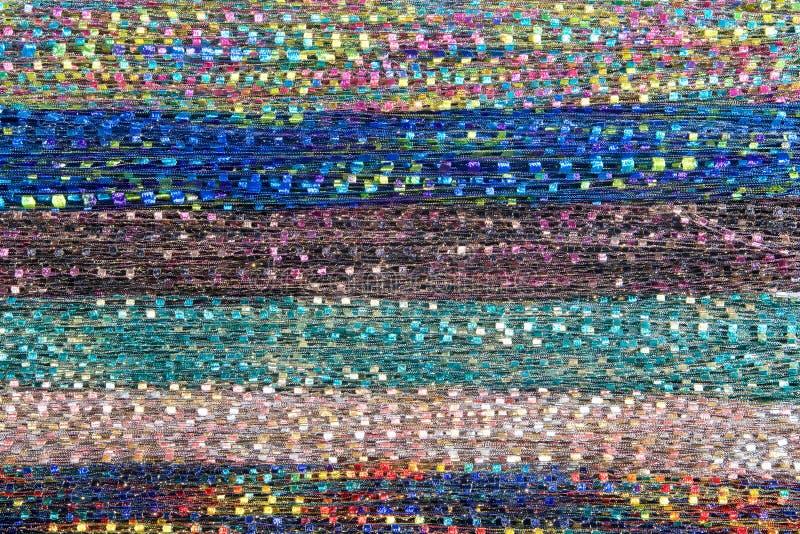 Предпосылка шарфа границы ткани стоковые фотографии rf