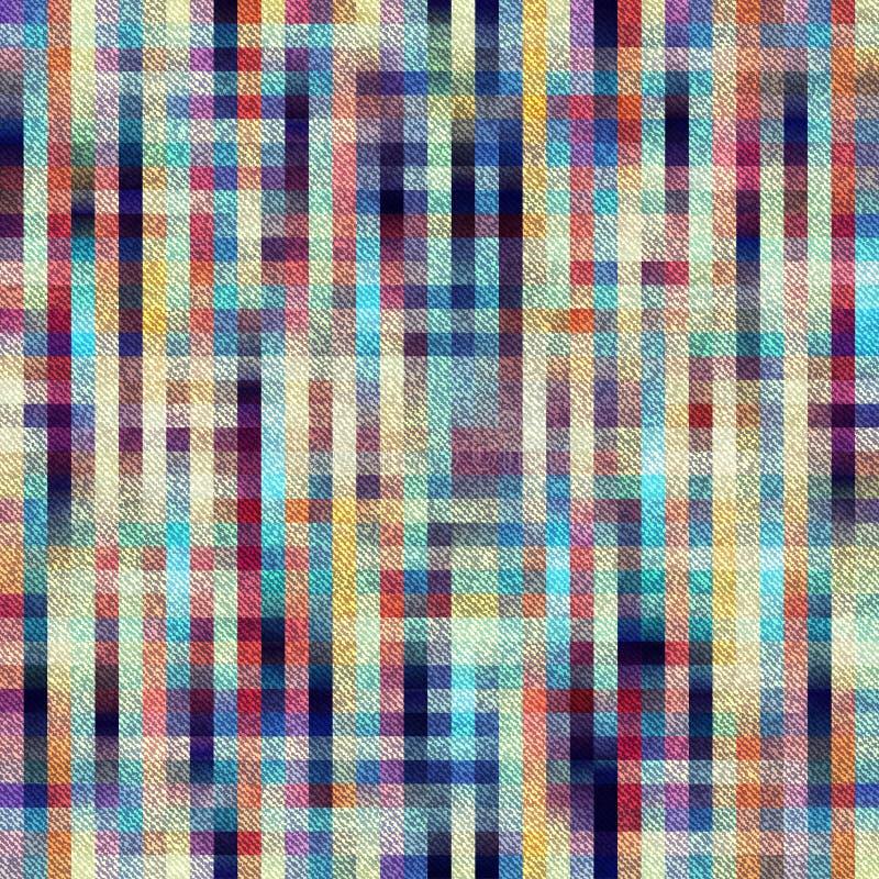 Предпосылка шотландки с раскосной текстурой иллюстрация штока