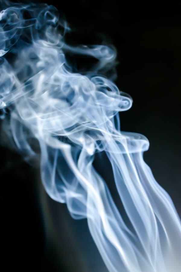 Предпосылка дыма абстрактная стоковые фотографии rf