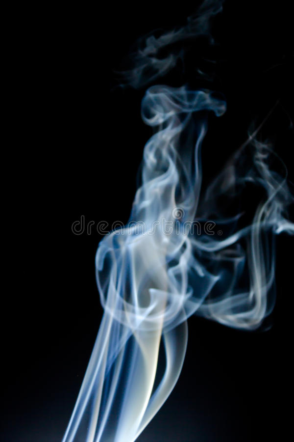 Предпосылка дыма абстрактная стоковая фотография rf