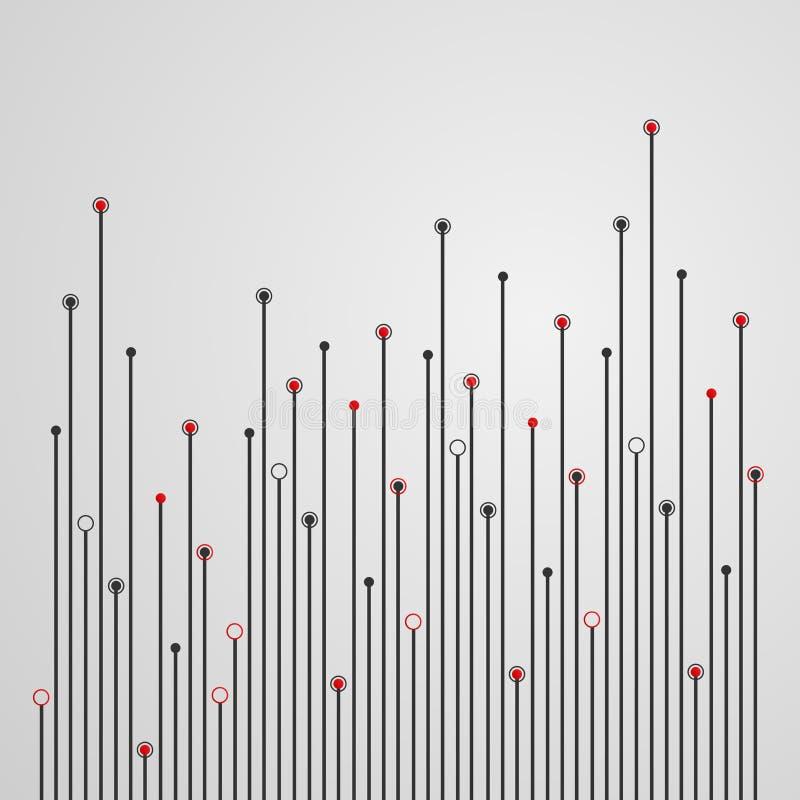 Предпосылка электронного инженерства иллюстрация вектора