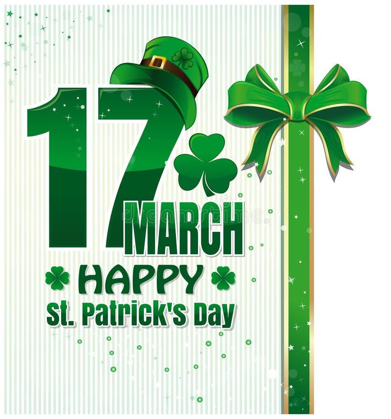 Предпосылка для счастливого торжества дня St Patricks 17-ое марта st patricks дня счастливый бесплатная иллюстрация