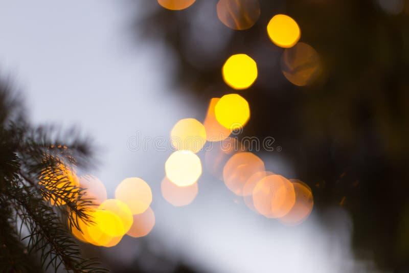 Download Предпосылка Bokeh светов рождества Стоковое Фото - изображение насчитывающей запачканный, сторонника: 81803914