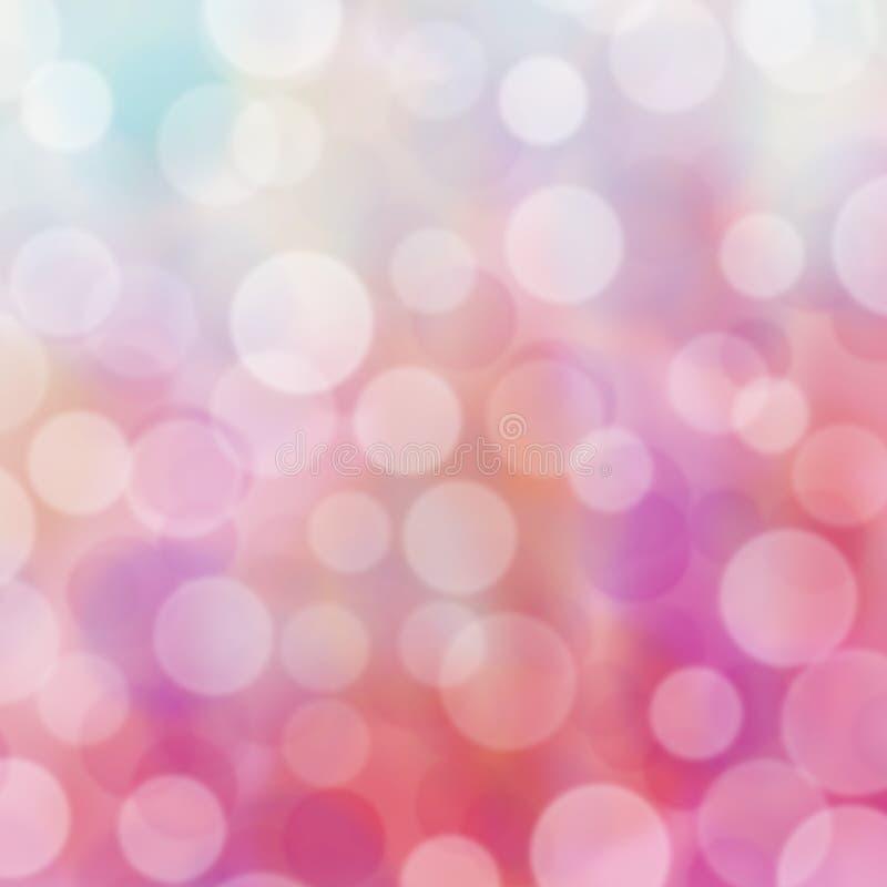 Предпосылка Bokeh светлая пастельная стоковая фотография rf