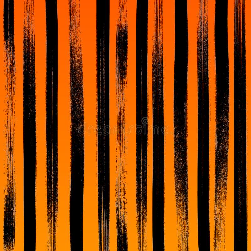 Предпосылка brushstroke краски конспекта хеллоуина бесплатная иллюстрация