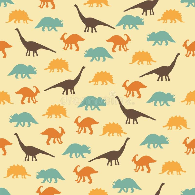 Предпосылка Dinozavrov иллюстрация штока