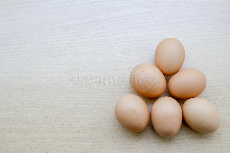 предпосылка eggs древесина стоковое изображение