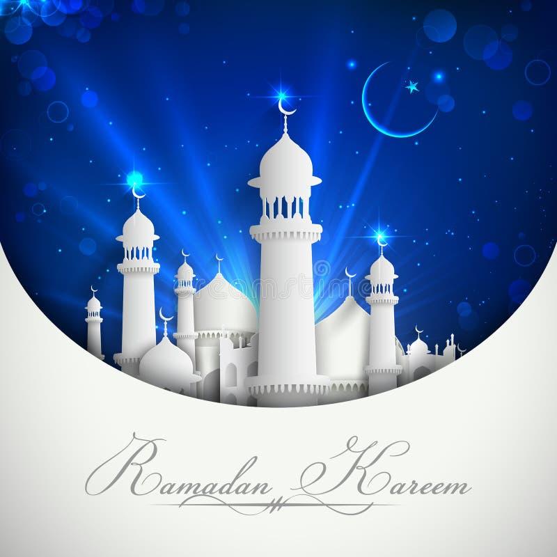 Предпосылка Eid Mubarak бесплатная иллюстрация