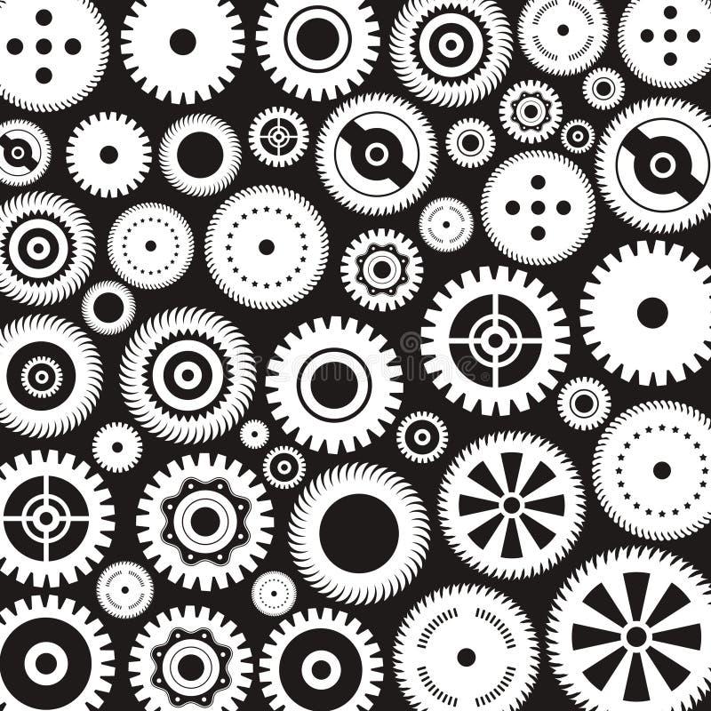 Предпосылка gears4 иллюстрация вектора