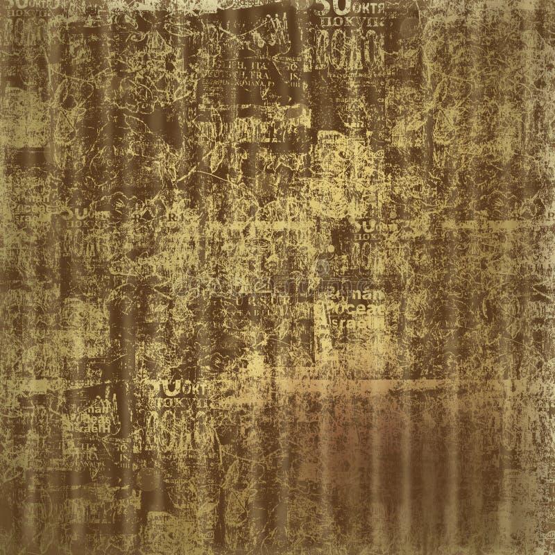 Предпосылка Grunge абстрактная с текстом handwrite бесплатная иллюстрация