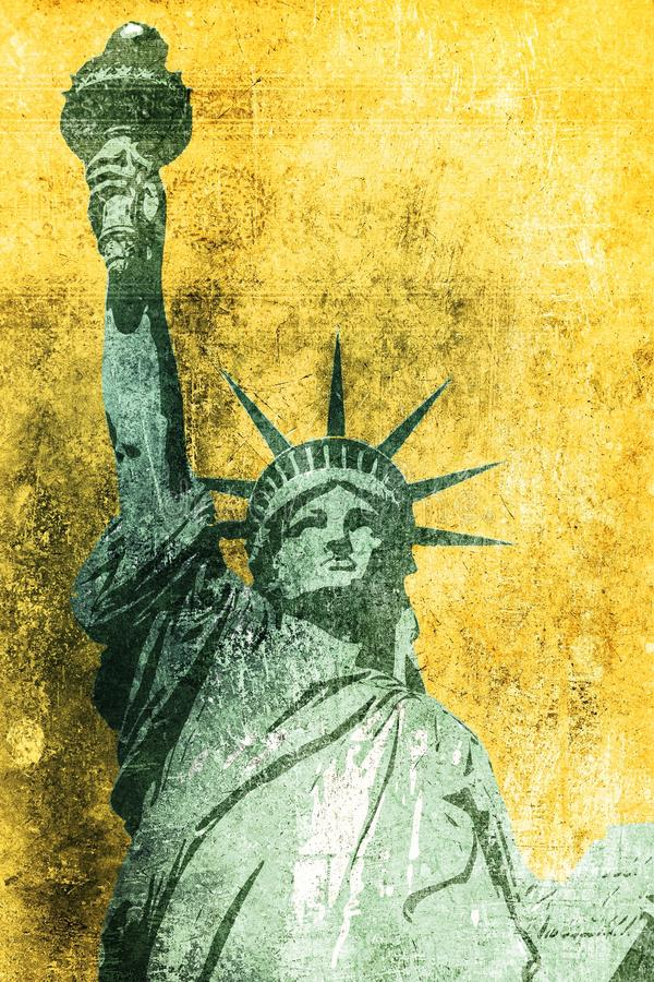 Предпосылка Grunge свободы бесплатная иллюстрация