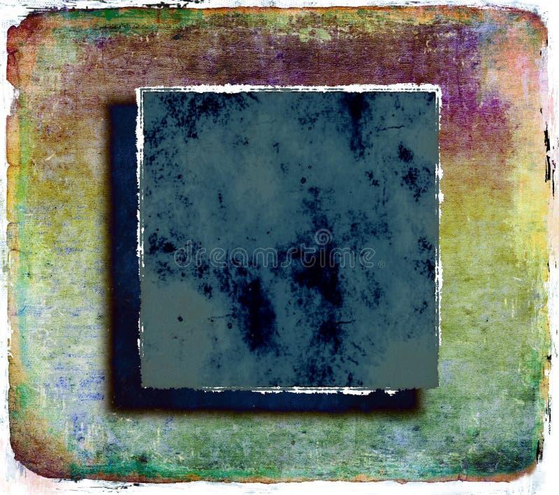 Предпосылка Grunge цветастая абстрактная иллюстрация штока